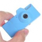 Стильная мини видеокамера (синяя)