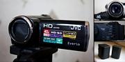 Продам видеокамеру JVC Everio GZ-HM430 + 2 аккумулятора JVC