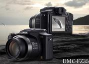 Продаётся  гибридная фотокамера Panasonic Lumix DMC-FZ35